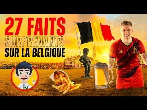 27 FAITS SURPRENANTS SUR LA BELGIQUE !!