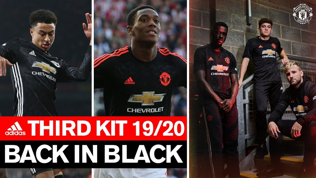 newest 534a3 76435 Back in Black | Manchester United Third Kit 2019/20 | adidas