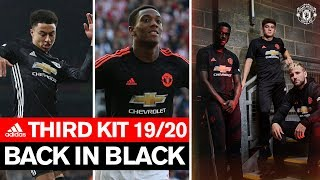 Back in Black | Manchester United Third Kit 2019/20 | adidas