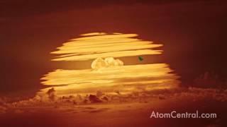 Hydrogen Bomb test explosion - Redwing Tewa