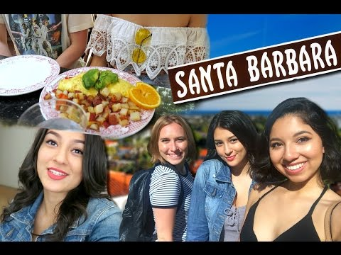 Weekend In Santa Barbara w/ Ally: Vlog!