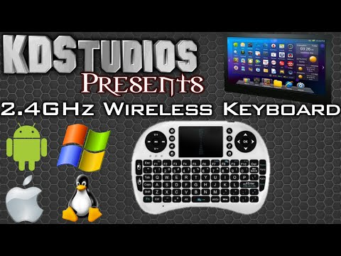 2.4GHz Wireless Mini Portable Keyboard / Touchpad / Mouse - Review (for Android & PC)
