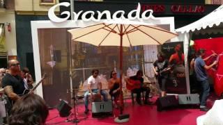 Концерт Фламенко. 8 июня 2016 площадь Кайао, Мадрид, Испания, Европа.