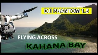 Flying Across Kahana Bay
