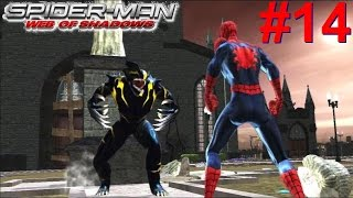Spider-Man Web Of Shadows PS3 Gameplay #14 [Spidey vs Symbiote Wolverine]