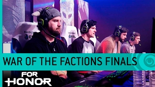 For Honor: War of the Factions Live Finals - Vikings vs. Knights (Multiplayer Gameplay) [US]