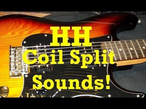 guitar tech all possible hh coil split humbucker sounds youtube. Black Bedroom Furniture Sets. Home Design Ideas