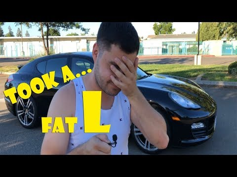 My Worst Financial Mistake buying a Panamera from Copart!