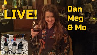 Wining With Dan & Meg & Mo Live! January, 16 2020 @ 8pm