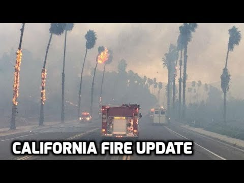UPDATE on California Fires // Lilac Fire