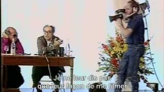 """This is the enemy."" Jean-Luc Godard in Cannes 1988"