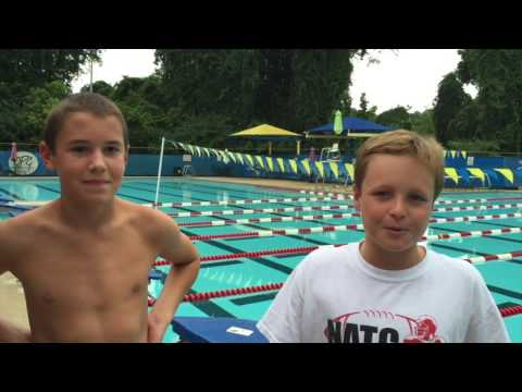 What's Up at Oxford Middle School - Swim Team