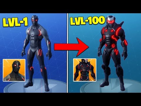 I Unlocked *MAX LEVEL* OMEGA SKIN In Fortnite Battle Royale!