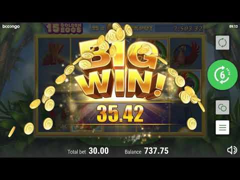 Игровой автомат 15 Golden Eggs (Booongo)