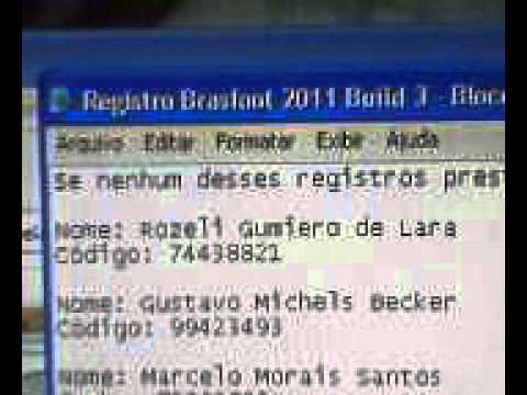 E REGISTRADO DOWNLOAD 2013 GRATIS GRATUITO BRASFOOT