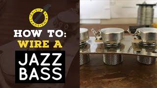 jazz bass wiring how to wire a fender jazz bass