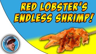 Red Lobster Endless Shrimp! - Food Review!