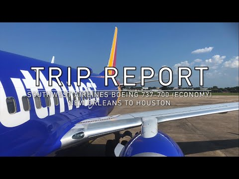 Trip Report | Southwest Airlines Boeing 737-700 (Economy) New Orleans To Houston (Hobby)