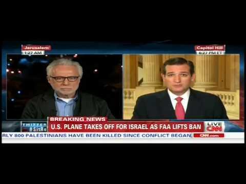 Cruz rips FAA flight ban to Israel