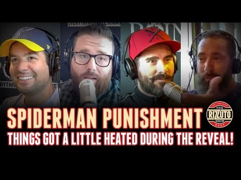 Patrico reveals the SPIDERMAN Punishment & the guys lock it in! [Rizzuto Show]
