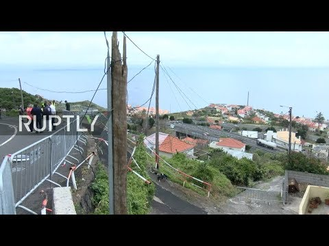 LIVE: Aftermath of Madeira bus crash
