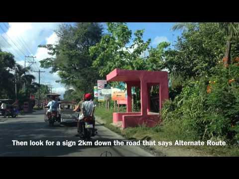 Manila to Laiya San Juan Batangas Playa Laiya Driving Directions by HourPhilippines.com