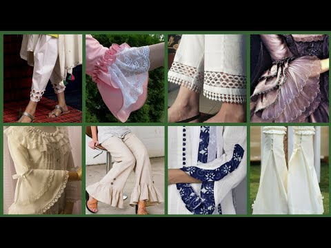 Stunning 😍 Trousers And Creative Sleeves Latest Designs Ideas For Girls