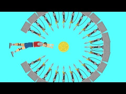99.9% PLAYERS CAN'T GRAB THE COIN! (Happy Wheels #113)