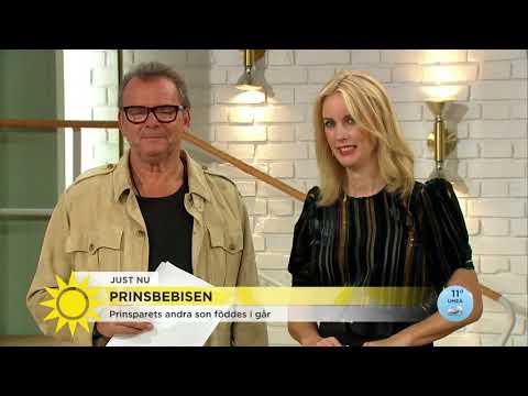 """Carl Philip: """"Vi har fått en pojke till"""" - Nyhetsmorgon (TV4)"""