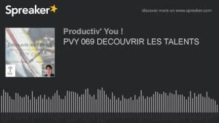 PVY 069 DECOUVRIR LES TALENTS