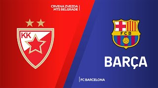 Crvena Zvezda mts Belgrade - FC Barcelona Highlights | Turkish Airlines EuroLeague, RS Round 21