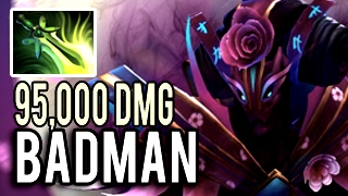 28 Kills FULL ITEM 95k Damage Spectre Boss by Badman Insane Patch 7.02 Dota 2