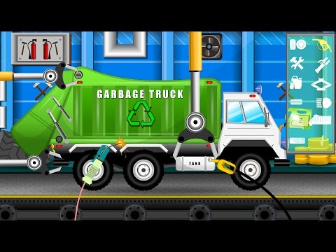 Garbage Truck Repair | Cars Garage for Kids | Videos For Chi