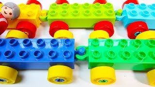 Learn to Build Duplo Farm Vehicles | Building Blocks Toys for Children