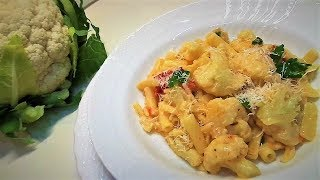 Цветная Капуста. Паста из Цветной Капустой Итальянское Блюдо