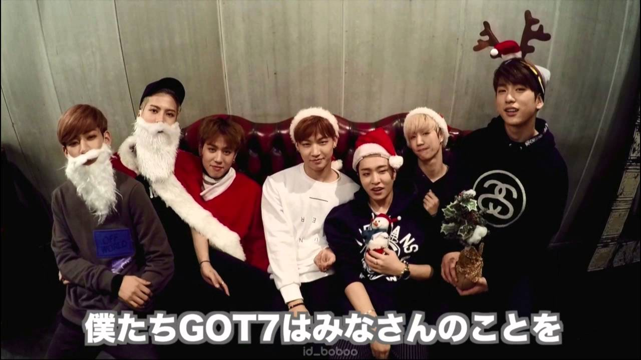 Merry Christmas 2015 from #GOT7 - YouTube