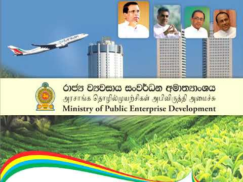 public enterprise development ministry song