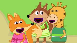 Fox Family and Friends new funny cartoon for Kids Full Episode #267
