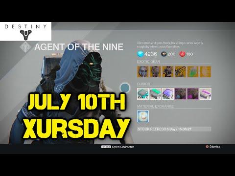 Xursday July 10th Eternal Warrior HYPE! | Destiny PS4 | (1080p)[HD]