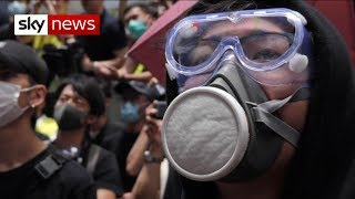 Protesters return to the streets of Hong Kong