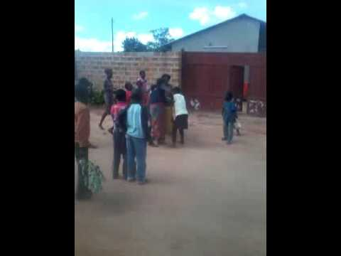 Black blind woman fights crazy kid zambia n fights