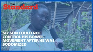 Man who defiled my son walks freely;he occasionally says I cant take him anywhere because I'm poor