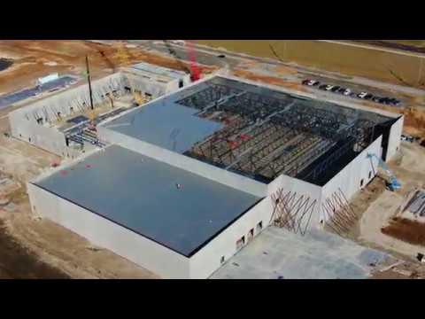 St. Louis Community Ice Center 1.8.19 Construction Progress