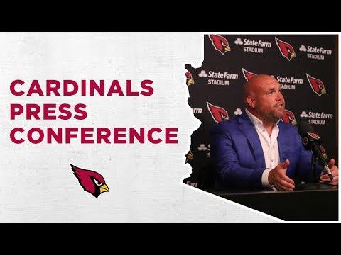 Arizona Cardinals Pre-Draft Press Conference