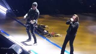 Exclusive for http://www.u2gigs.com. U2 live from Manchester Arena....