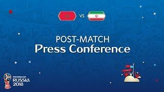 FIFA World Cup™ 2018: Morocco v. IR Iran - Post Match PC