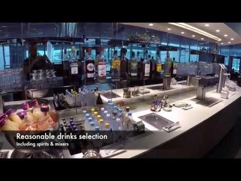Lufthansa Business Class Lounge Frankfurt Airport