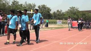 March Past by State Teams - 16th Sr. National Para Athletic Championships 2016