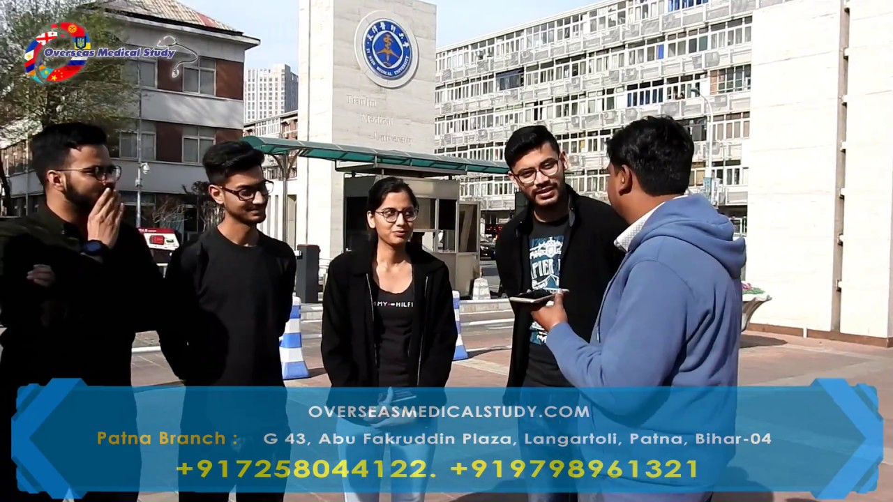 Tianjin Medical University China | MBBS Student from India giving their  Feedback