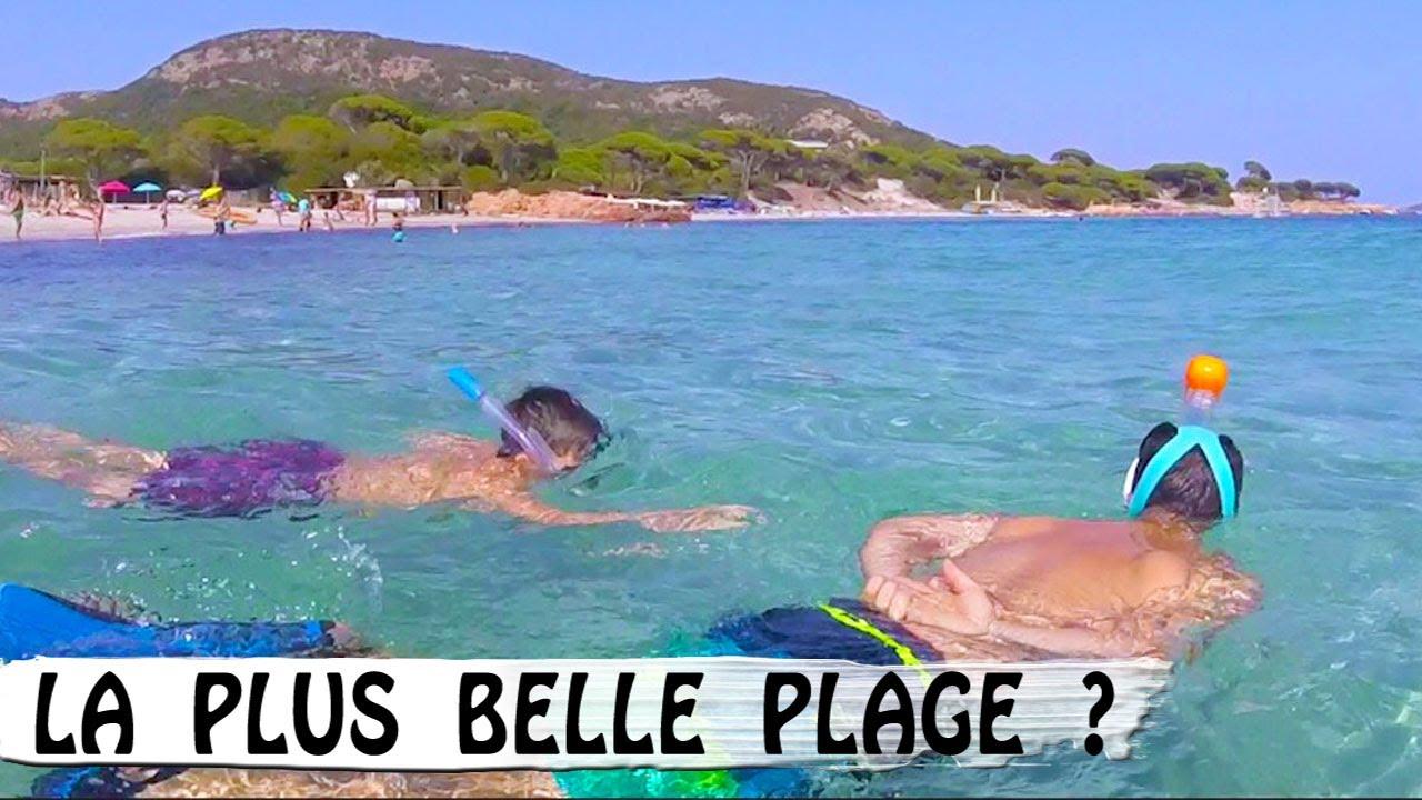 PLAGE DE PALOMBAGGIA   Une des plus belles   Family Vlog en Corse   Vlog  Vacances 726054f67e78